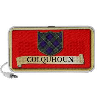 Scottish Tartan design - Colquhoun - Personalise Laptop Speakers