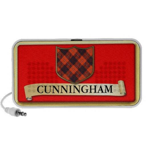Scottish Tartan design - Cunnigham - Personalise Laptop Speaker