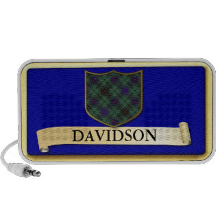 Scottish Tartan design - Davidson - Personalise Mini Speaker