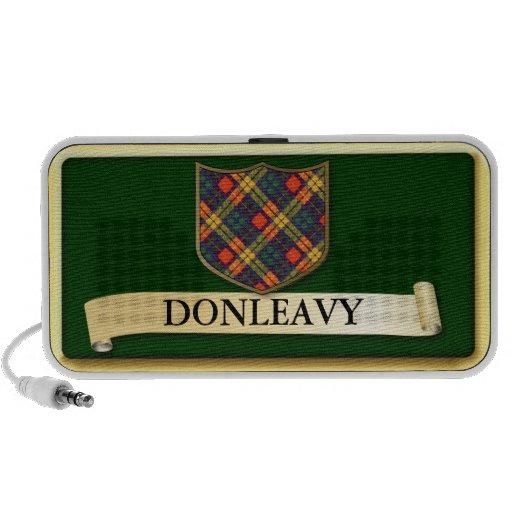 Scottish Tartan design - Donleavy - Personalise Travelling Speaker