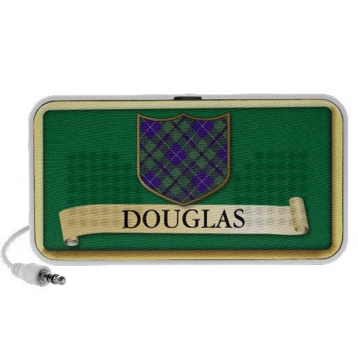 Scottish Tartan design - Douglas - Personalise Notebook Speaker