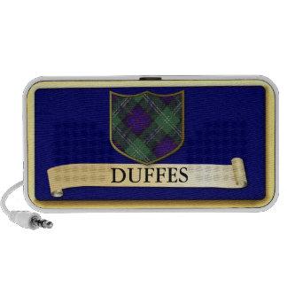 Scottish Tartan design - Duffes - Personalise iPhone Speaker