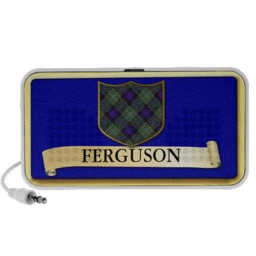 Scottish Tartan design - Ferguson - Personalise Portable Speaker