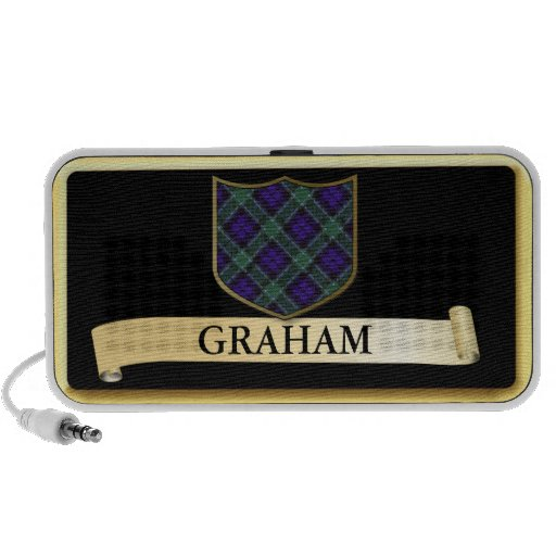 Scottish Tartan design - Graham Personalise Portable Speaker
