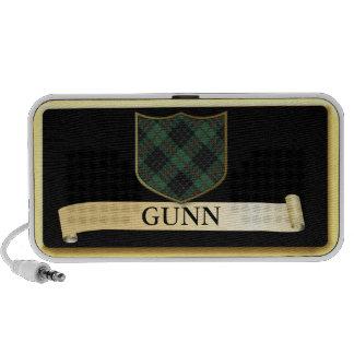 Scottish Tartan design - Gunn Personalise Mp3 Speakers