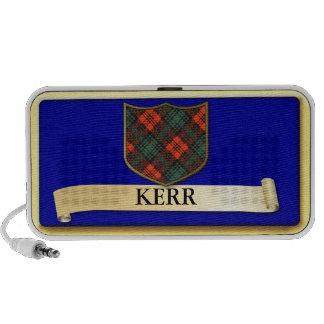Scottish Tartan design - Kerr - Personalise iPhone Speaker