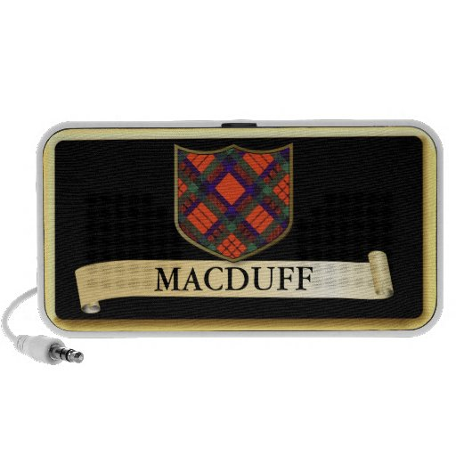 Scottish Tartan design - Macduff Personalise Speaker System