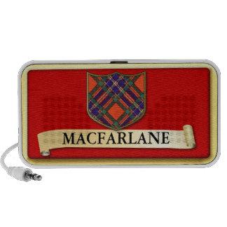 Scottish Tartan design - Macfarlane - Personalise Speakers