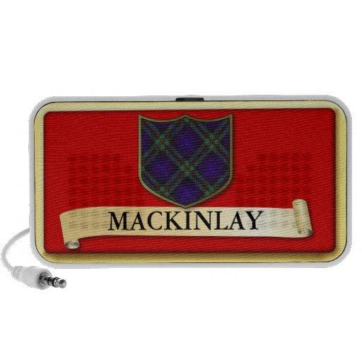 Scottish Tartan design - Mackinlay - Personalise Travelling Speaker