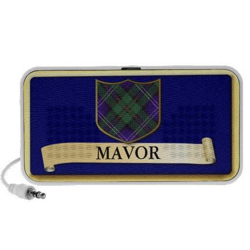 Scottish Tartan design - Mavor - Personalise Notebook Speakers