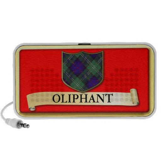 Scottish Tartan design - Oliphant - Personalise iPod Speaker