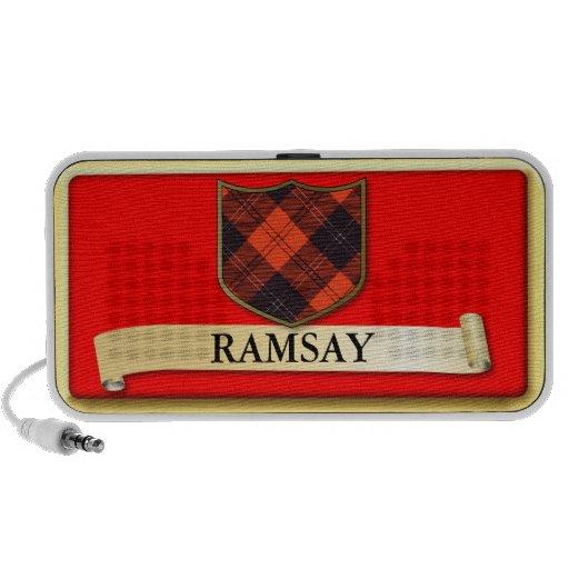 Scottish Tartan design - Ramsay - Personalise Notebook Speakers