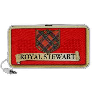 Scottish Tartan design - Royal Stewart Personalise iPhone Speaker