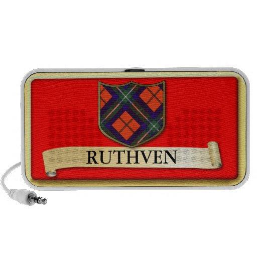 Scottish Tartan design - Ruthven - Personalise iPhone Speakers