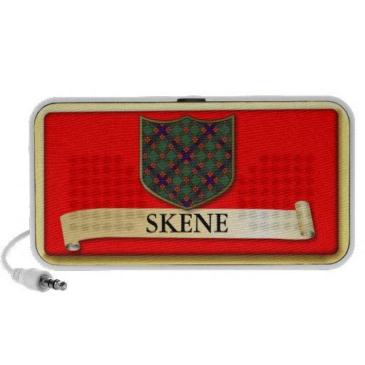 Scottish Tartan design - Skene - Personalise Travelling Speaker