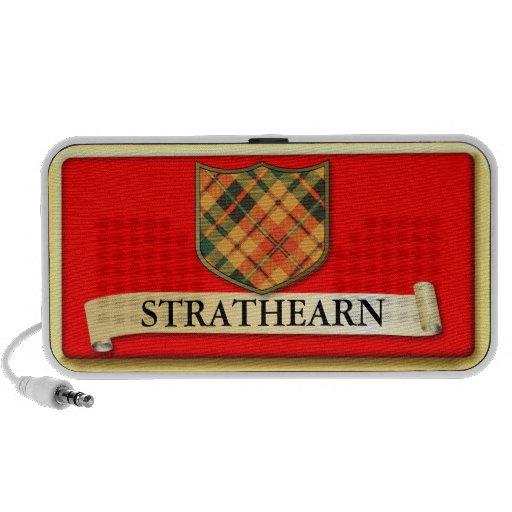 Scottish Tartan design - Strathearn - Personalise Laptop Speakers