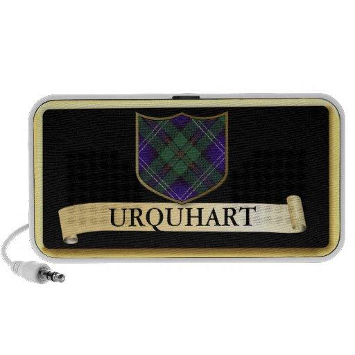 Scottish Tartan design - Urquhart - Personalise PC Speakers