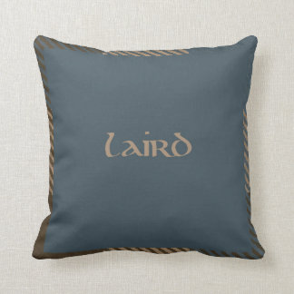 Scottish Tartan Laird pillow