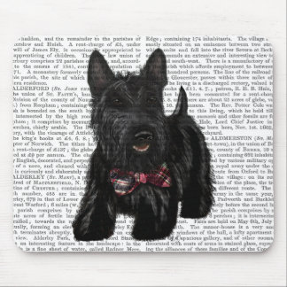 Scottish Terrier and Bow Mouse Pad