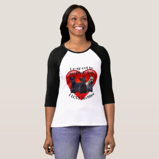 Scottish Terrier black/wheaten, sitting/standing T-Shirt