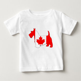 Scottish Terrier Canada Baby T-Shirt