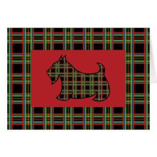 Scottish Terrier Card