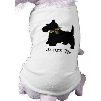 Scottish Terrier Christmas Personalized Shirt