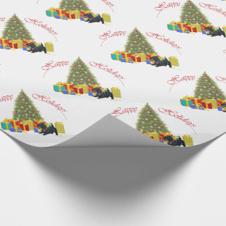 Scottish Terrier Christmas Wrapping Paper