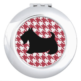 Scottish Terrier Compact Makeup Mirror