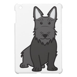 Scottish Terrier Dog Cartoon iPad Mini Case
