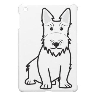Scottish Terrier Dog Cartoon iPad Mini Cover