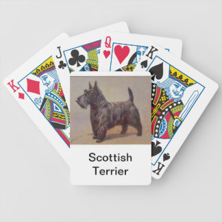 Scottish Terrier Dog Playing Cards