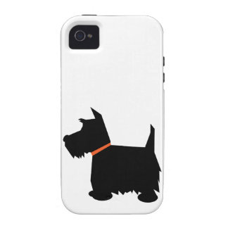 Scottish Terrier dog silhouette iphone 4 case mate