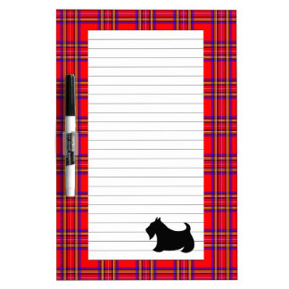 Scottish Terrier Dry Erase Board