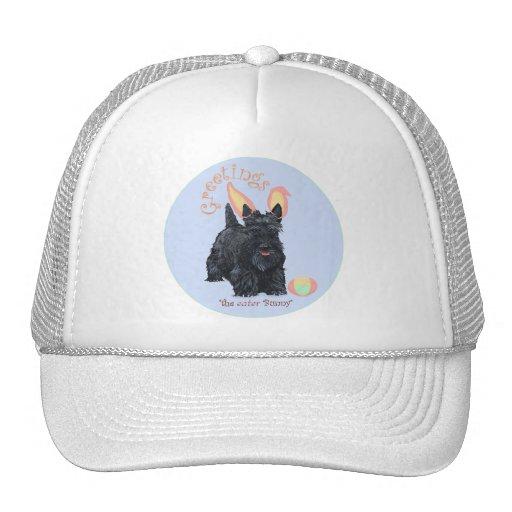 Scottish Terrier Easter Trucker Hat