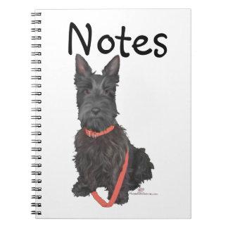 Scottish Terrier Flourish Notebook