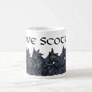 Scottish Terrier Gathering Coffee Mug