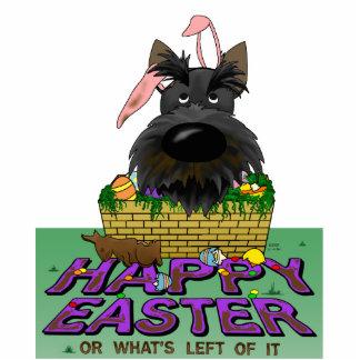 Scottish Terrier Happy Easter Sculpture Standing Photo Sculpture