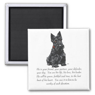 Scottish Terrier Keepsake Magnet
