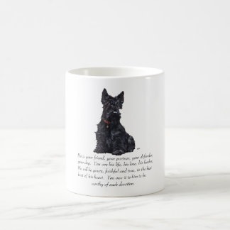 Scottish Terrier Keepsake - MALE Dog Coffee Mug