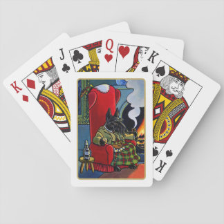Scottish Terrier Laird Dog Playing Cards Poker Deck