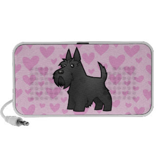 Scottish Terrier Love (add your own pattern) Travel Speakers