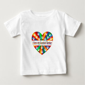 Scottish Terrier Love Baby T-Shirt
