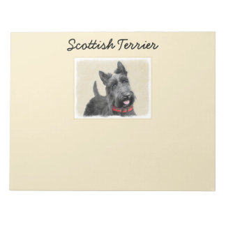 Scottish Terrier Notepad