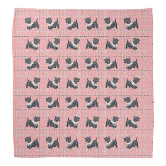 Scottish Terrier Party Mode Bandana