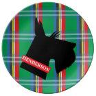 Scottish Terrier Personalised Porcelain Plate