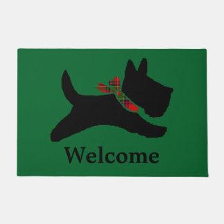 Scottish Terrier Personalize Doormat