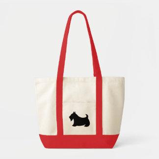 Scottish Terrier Scotty Dog Tote Bag Gift