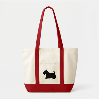 Scottish Terrier Scotty Dog Travel Tote Bag