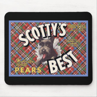 Scottish Terrier Scottys Best Dog Mouse Pad